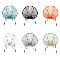 Contemporary Garden Chair Various Colours