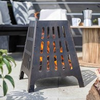 Contemporary Steel Fire Pit
