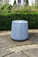 Contemporary Water Feature in Two Colours LED Light