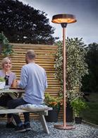 Copper Free Standing Halogen Garden Heater