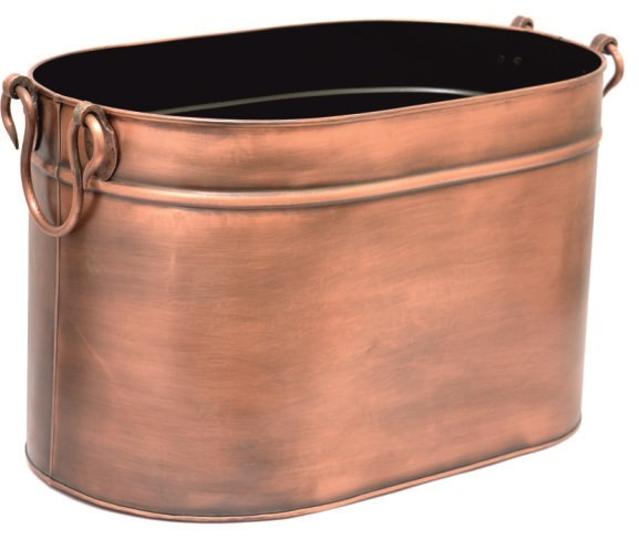 Copper Log Holder Log Basket