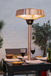 Copper Tabletop Electric Garden Heater