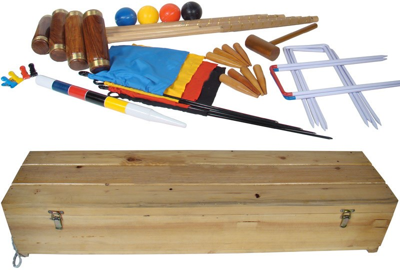 Croquet Britannic Luxury Croquet Set
