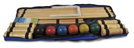 Croquet Pro 6 Player Traditional Wooden Croquet Set