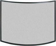 Curved Modern Fireplace Guard