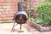 Cute Steel Multi Fuel Chimenea