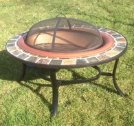 Deluxe Fire Bowl Table Patio Heater