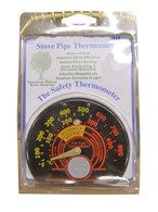 Deluxe Magnetic Stove Pipe Thermometer