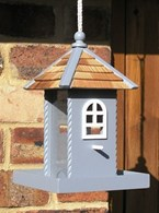 Wooden Garden Bird Feeder Table