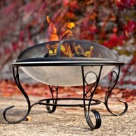 Elaborate Stainless Steel Firepit