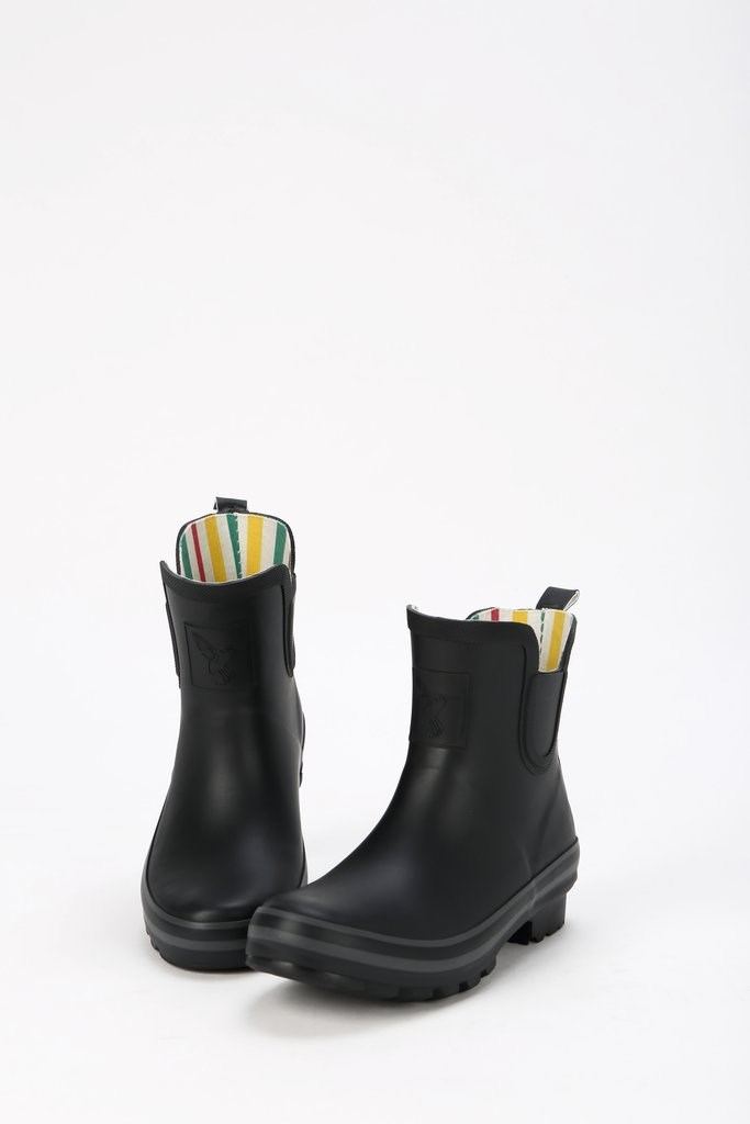 Evercreatures Black Ankle Wellies