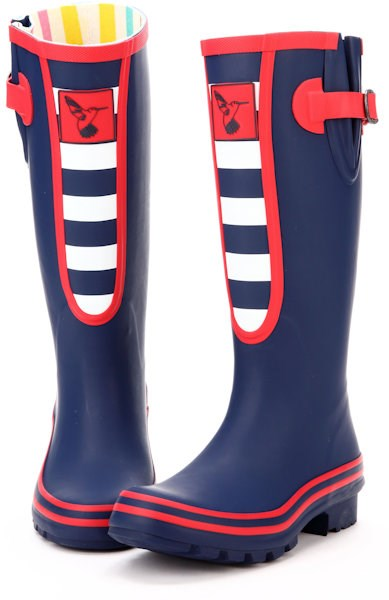 Evercreatures Breton Wellies in a Marine Style