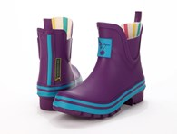 Evercreatures Eggplant Ankle Wellies