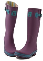 Evercreatures Eggplant Ladies Wellies