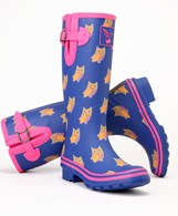 Evercreatures Ladies Owl Wellies