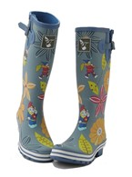 Evercreatures Ladies Wellies Dahlia