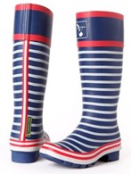 Evercreatures Ladies Wellies In The Navy