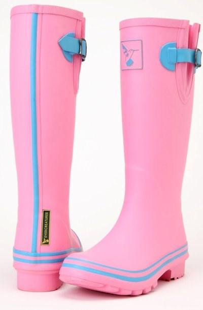 Evercreatures Pastel Pastures Pink Ladies Wellies