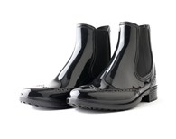 Evercreatures PVC Ankle Wellies Chelsea Boots