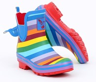 Evercreatures Rainbow Ankle Wellies