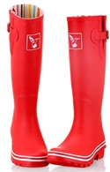 Evercreatures Red Ladies Wellies