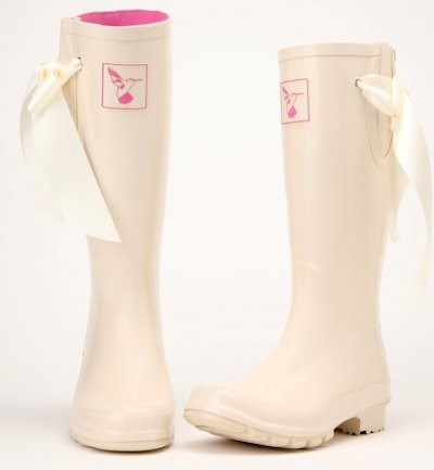 Evercreatures Wedding Wellies I Do Bridal Boots