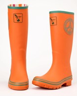 Evercreatures Wellies Celtic Peace Long Festival Ladies Wellingtons