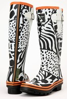 Evercreatures Wild Wellies Long Festival Ladies Wellingtons
