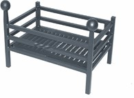 Heavy Steel Fire Basket 3 Sizes