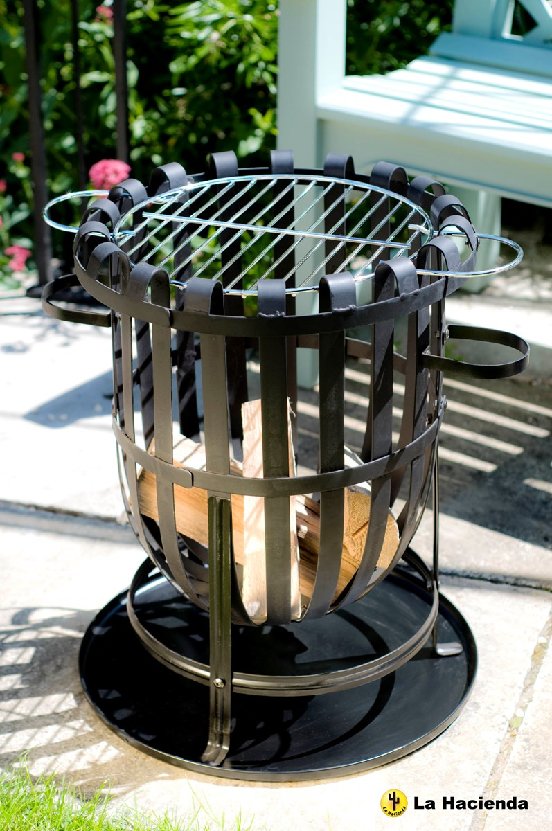 Fire Basket Incinerator And Barbeque In One Savvysurf Co Uk