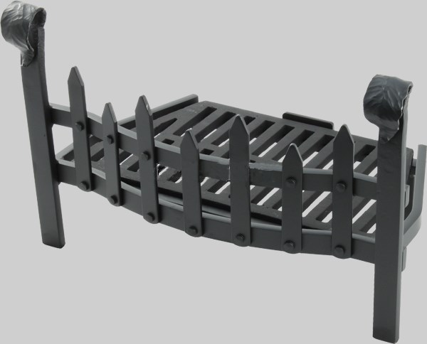 Fire Grate 16 or 18 Inch with Tapered Back