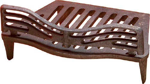 Fire Grate with Front Available in 16 or 18 Inch Size