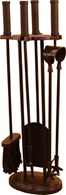 Fireplace Companion Set with 4 Tools