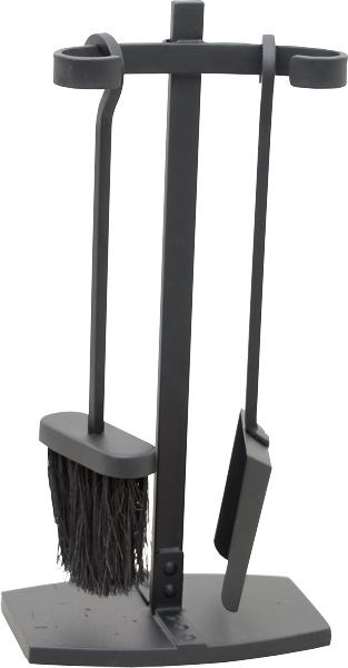 Fireside Shovel and Brush Set with Stand