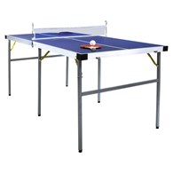 Foldable Table Tennis Table with Accessories