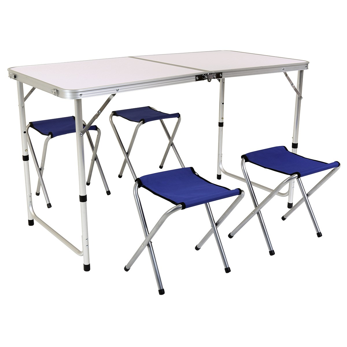 Folding Camping Table and Four Chairs