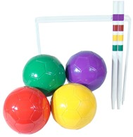 Football Croquet Family Garden Game