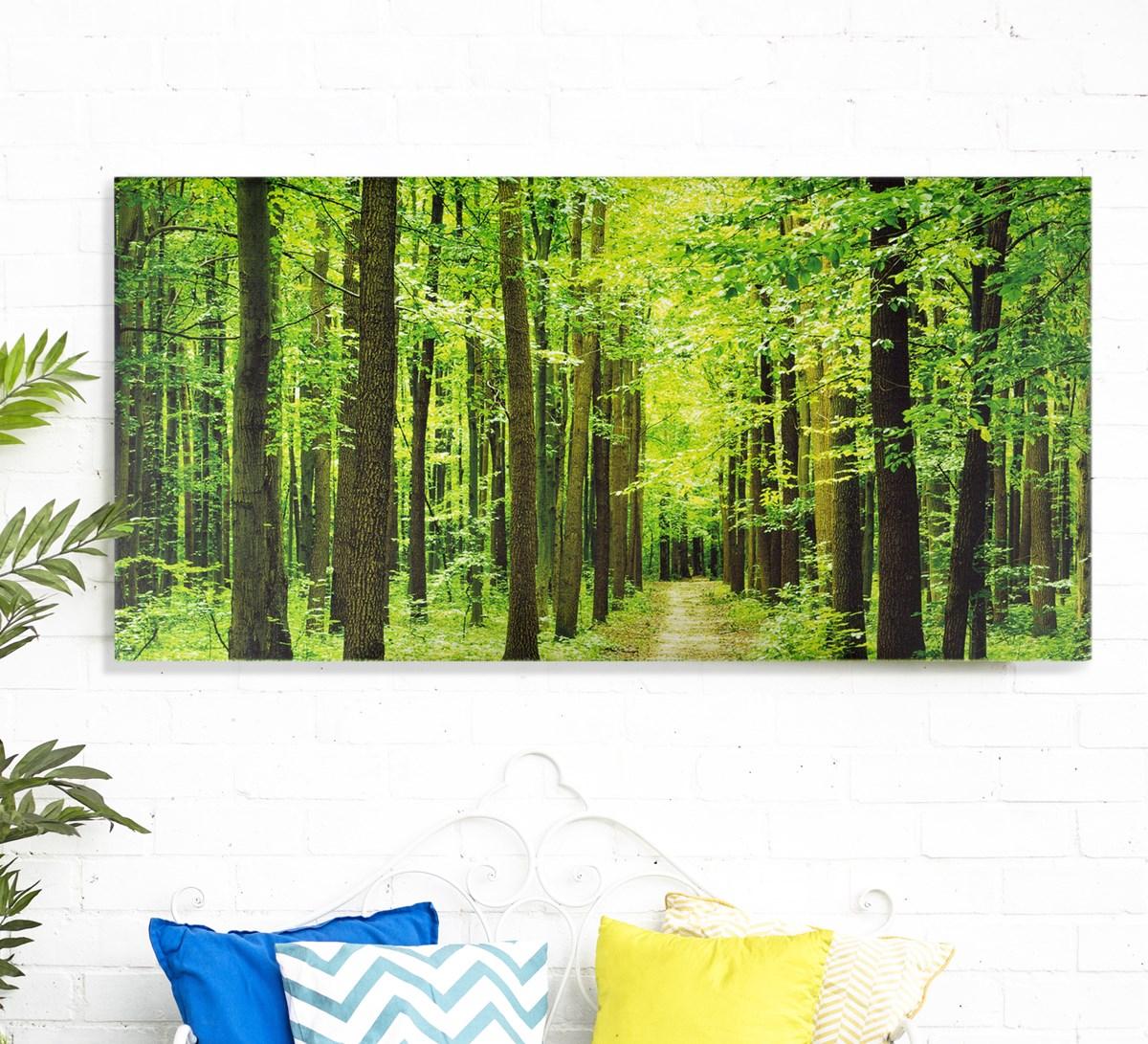 Outdoor Garden Wall Art: Forest Outdoor Wall Art