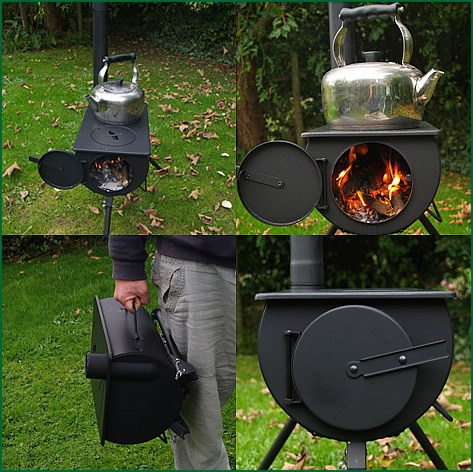 ... GENUINE Frontier Stove Portable Outdoor Wood Burner ... - Frontier Stove Wood Burner Camping Cooker Heater Camping Stove BBQ