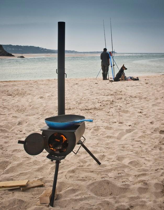 GENUINE Frontier Stove Portable Outdoor Wood Burner