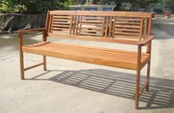 FSC 2 or 3 Seater Wooden Bench
