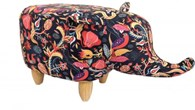 Funky Elephant Footstool