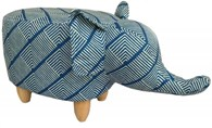 Contemporary Elephant Footstool