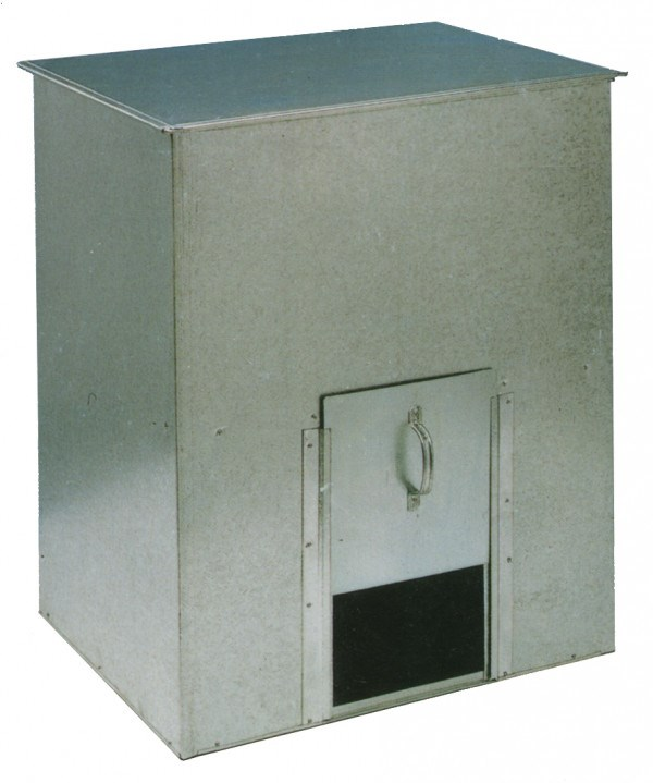Galvanised Coal Bunker or Animal Feed Storage