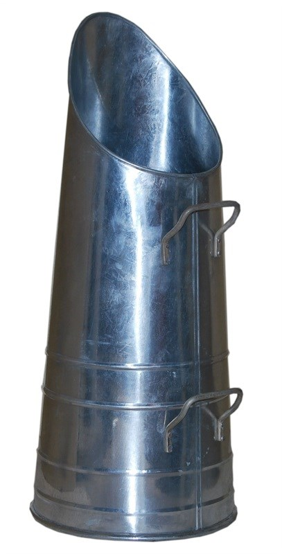 Galvanized Coal Hod Coal Bucket