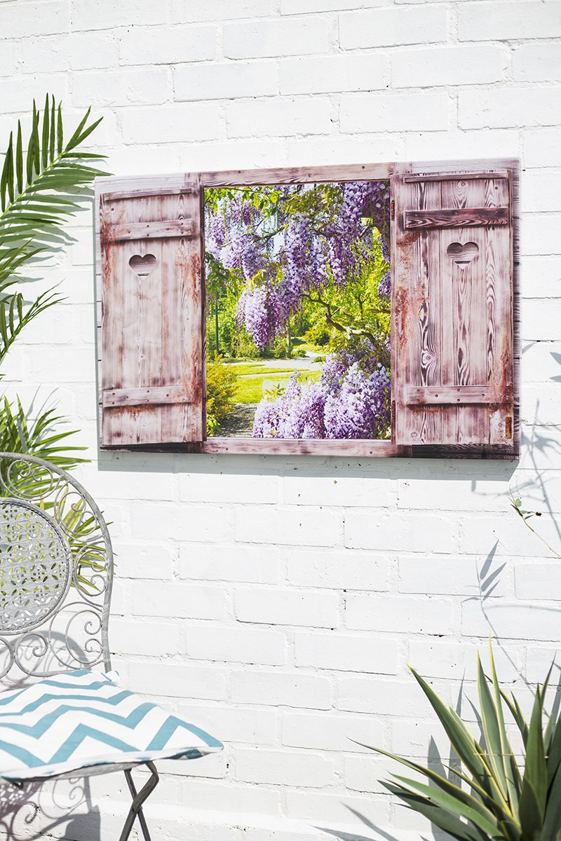 Garden Shutters Outdoor Art