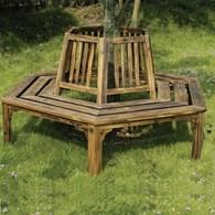 Garden Tree Seat Circular Bench
