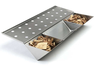 Gas Barbeque Smoker Box with Liquid Reservoir