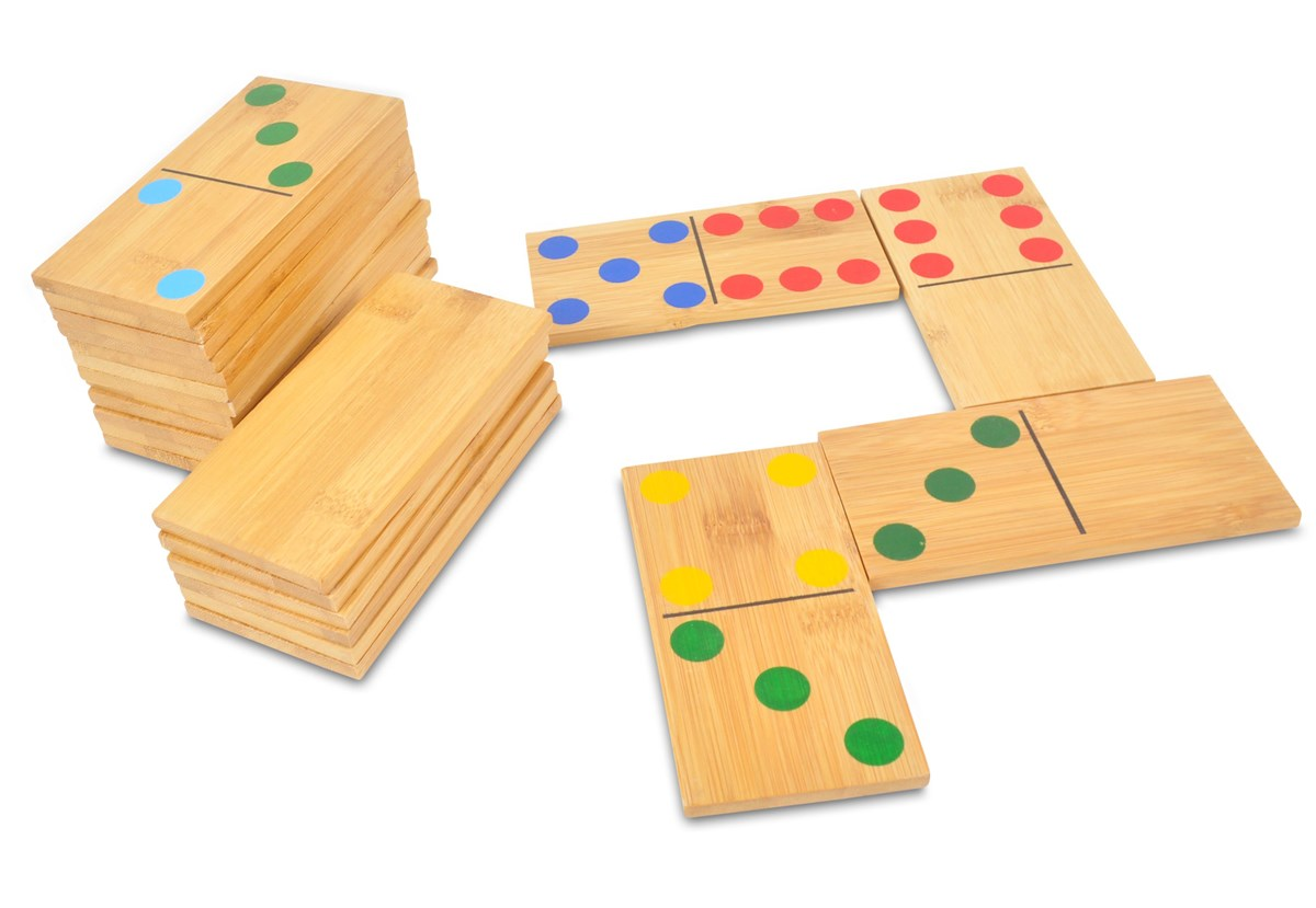Giant Dominoes Wooden Family Garden Game