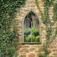 Shabby Chic Style Garden Mirror